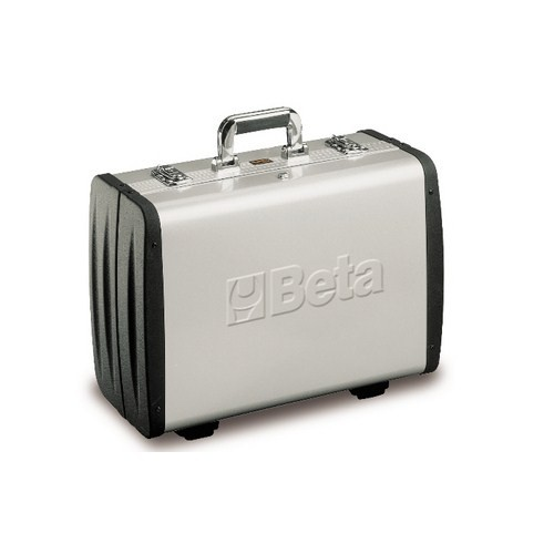 Beta Tools 020330300, 2033P/VV Empty Aluminum Wall Tool Case with ABS Sides