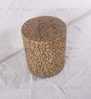 Teak Root Furniture Round Stool