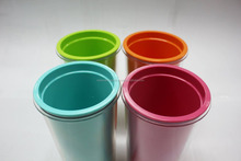 Custom printed plastic cup double wall coffee cups,reusable-COCO L1546-8