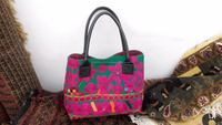 Banjara Floral Handbag with old embroidery