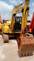 KOMATSU PC70-8 construction machinery wheeled excavator used excavator JAPAN origin for sale in shanghai china