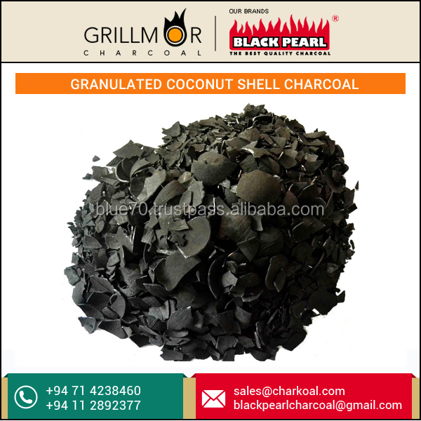 Certified Company Selling Granulated Coconut shell Charcoal at Low Rate