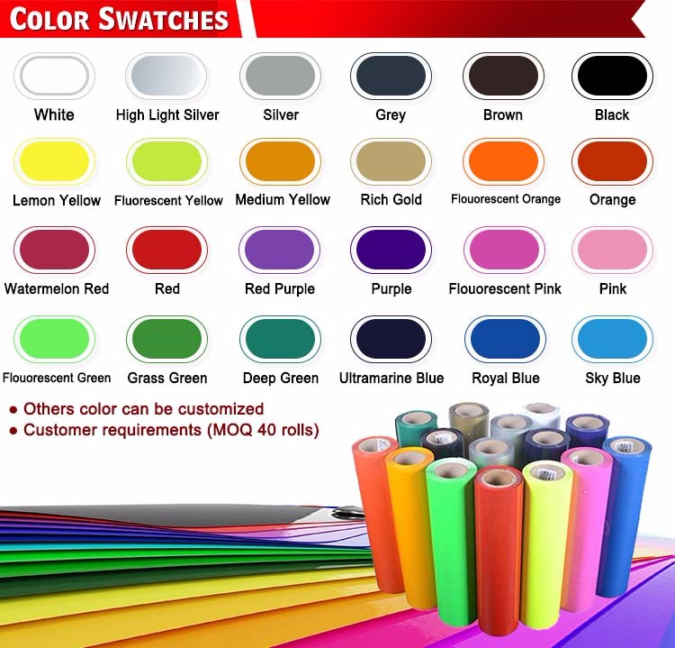 Wholesale Cheapest Quality Flock Heat Transfer Vinyl