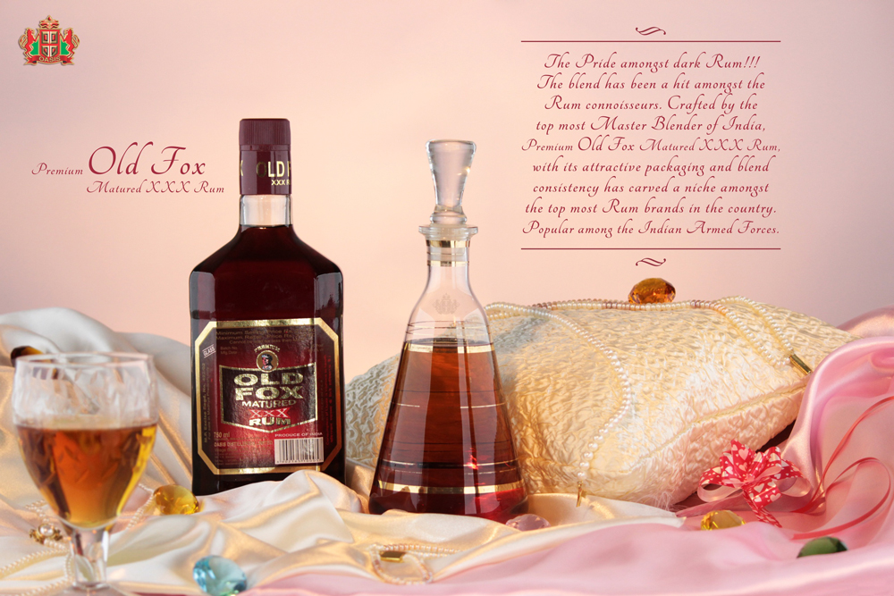 Old Fox Matured XXX Rum