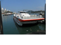 295 PAX CATAMARAN TWIN HULL AIR CUSHION TYPE ULTRA RAPID PASSENGER SHIP/VESSEL FOR SALE