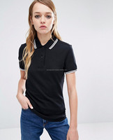 High Quality Custom Design Polo men Clothes / Wholesale Cheap Women Polo Shirt /Fashion Yarn Dyed Ladies' Stripe