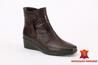 women's Sutumn Winter Anatomic Boots Genuine Leather 6451