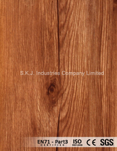 PVC Wood Grain Overlay