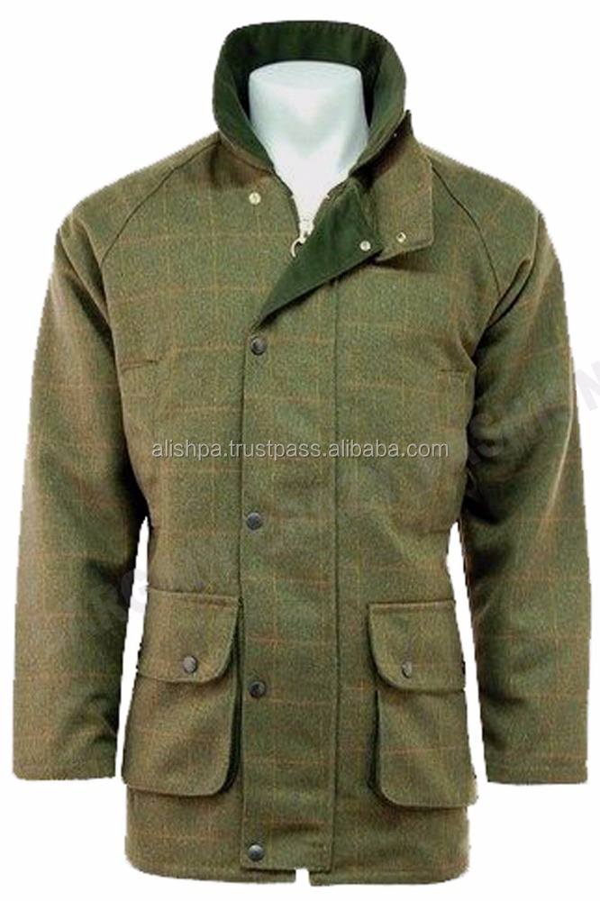 Mensv Wool Jacket Breathable Warm Shooting Hunting