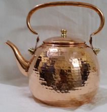 100% Pure Copper Hammered BPA free Copper Tea Kettles