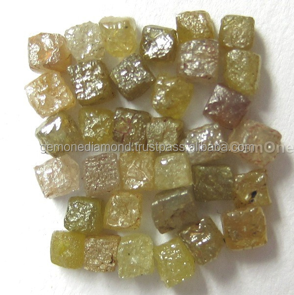 Natural Loose Uncut Raw Rough Cube Diamond for sale
