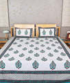 Cotton Handblock Bedsheet
