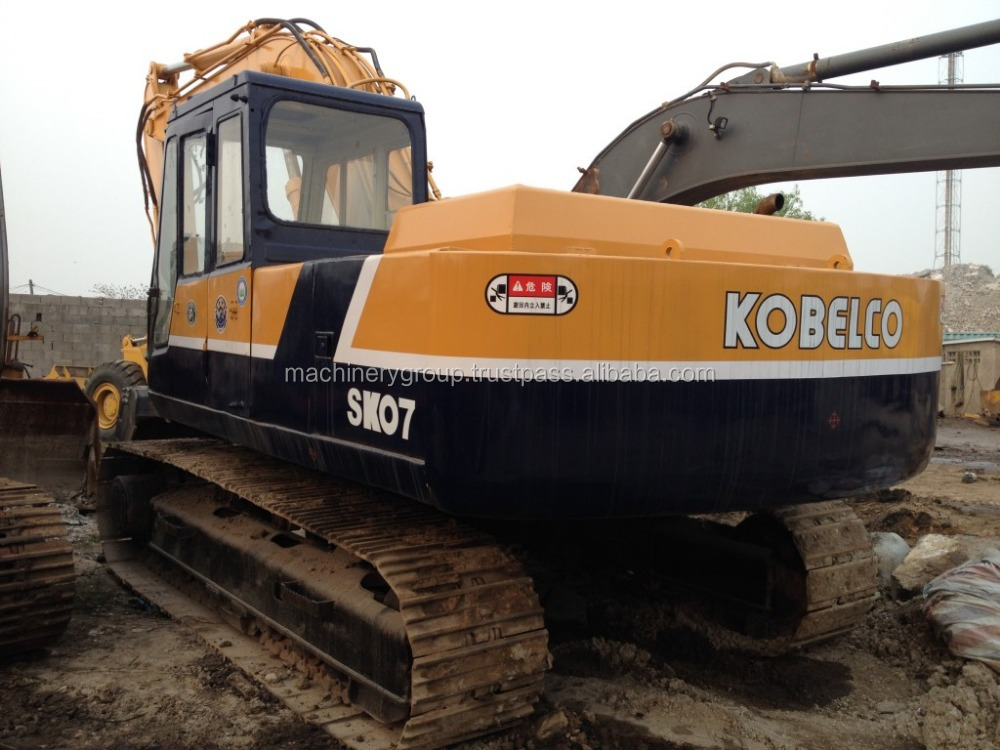 High Quality Used Kobelco SK07 Crawler Excavator for Sale