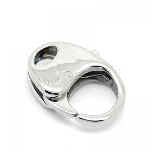Stainless Steel lobster shrimp Claw Clasp end cap magnetic lock clasp for jewelry