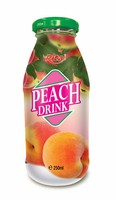 100% Natural Pure Peach Juice