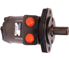 Small gear motor for hydraulic system