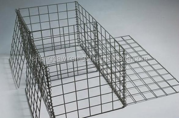 Hot dip galvanized Gabion Box/welded gabion baskets for landscaping