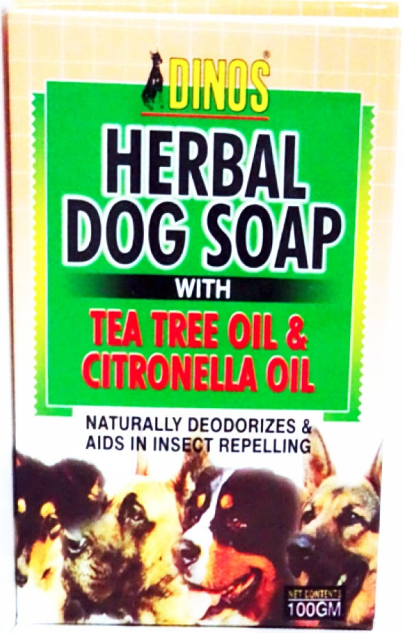 Eco-friendly Tea Tree Oil & Citronella Oil Herbal Dog Soap