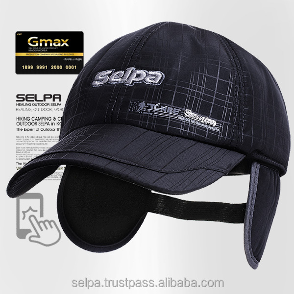 SELPA KOREA Winter Ear Flaps Caps Baseball Ear Flaps Hats Caps