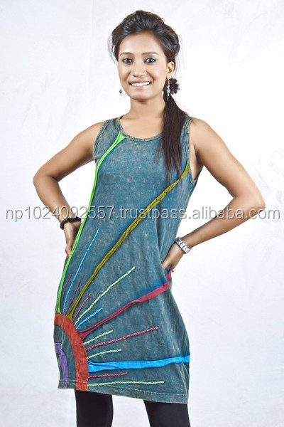 Tunics/Nepal/Skirts/Dresses/Girls/Kurta/Tops / Mixed Color/New Design