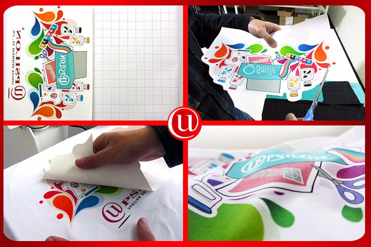 Vivid Colorful Light Fabric Inkjet Paper Transfer For Diy Use