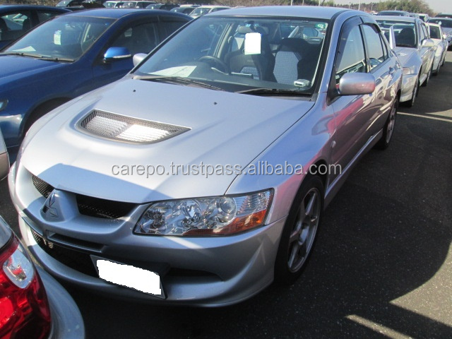 HIGH QUALITY AND GOOD CONDITION USED JAPANESE CARS RIGHT HAND DRIVE FOR MITSUBISHI LANCER F6 2003 GSR EVOLUTION 8