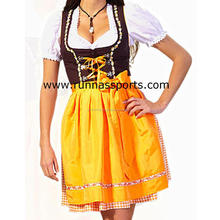 Women Custom Cotton Polyester Trachten Mini Dirndl, BAVARIAN DIRNDL for wemen