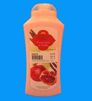 Intimate Lotion Tropical Pomegranate & Van