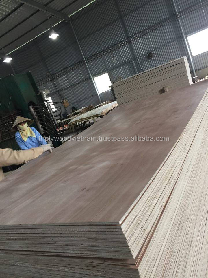 Veneering packing plywood furniture grade 1220mm x 2440mm x 11mm E2 glue