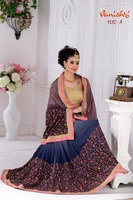 Wedding Lehenga Saree/Plain Georgette Saree Wholesale/Padmashree Cotton Saree/ Fashion Indian Sari Seller In Dubai