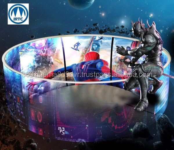 Vietnam supplier professional 8D cinema with circular screen