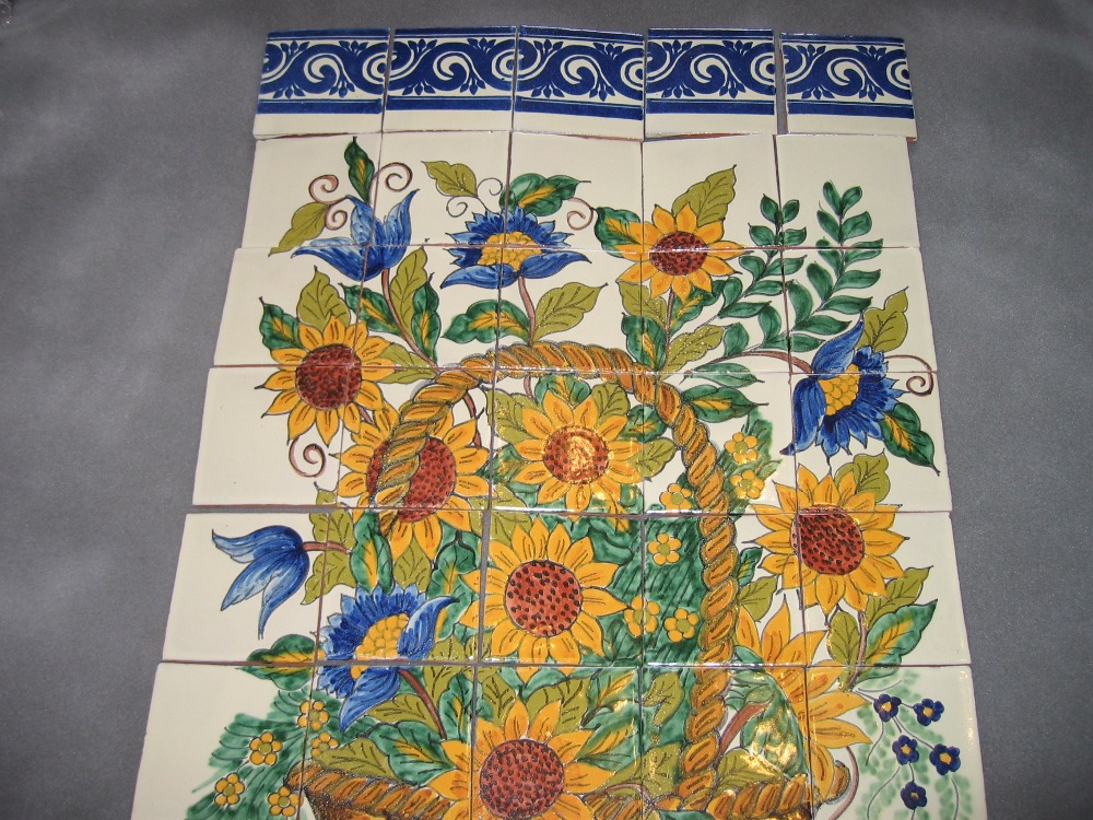 Talavera Tiles custom made, any design can be quoted!