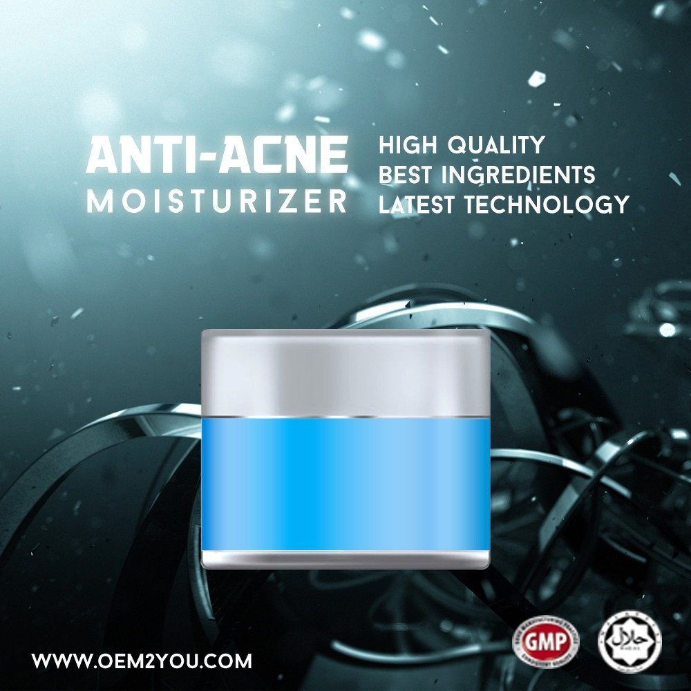 Oem Skincare Anti-Acne Cream Moisturizer for any skin types