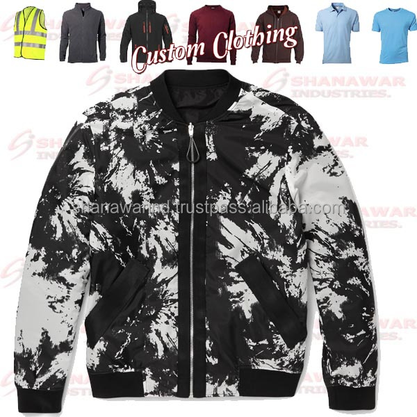 2016 sublimation bomber jacekts
