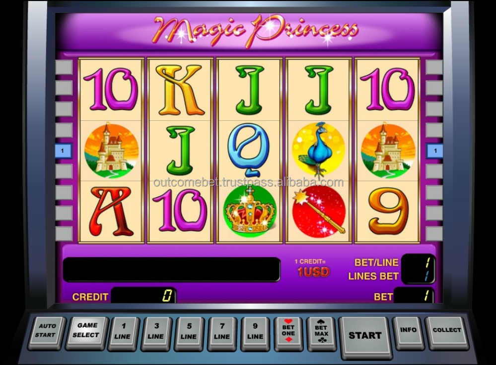 FLASH and HTML5 slots games for online casino
