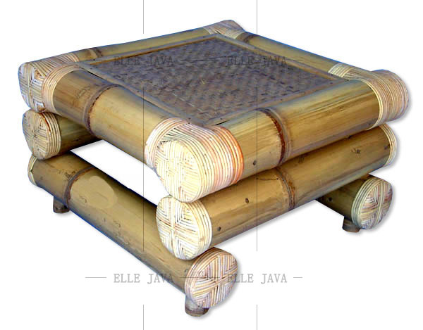 Bamboo Table indoor furniture home deco