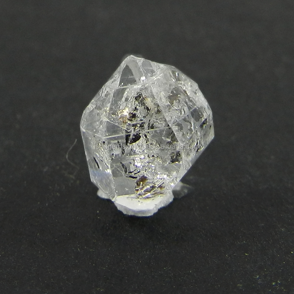 4.3 cts Herkimer diamond gemstone 10x16.5mm uneven loose stone for jewelry making IG3178