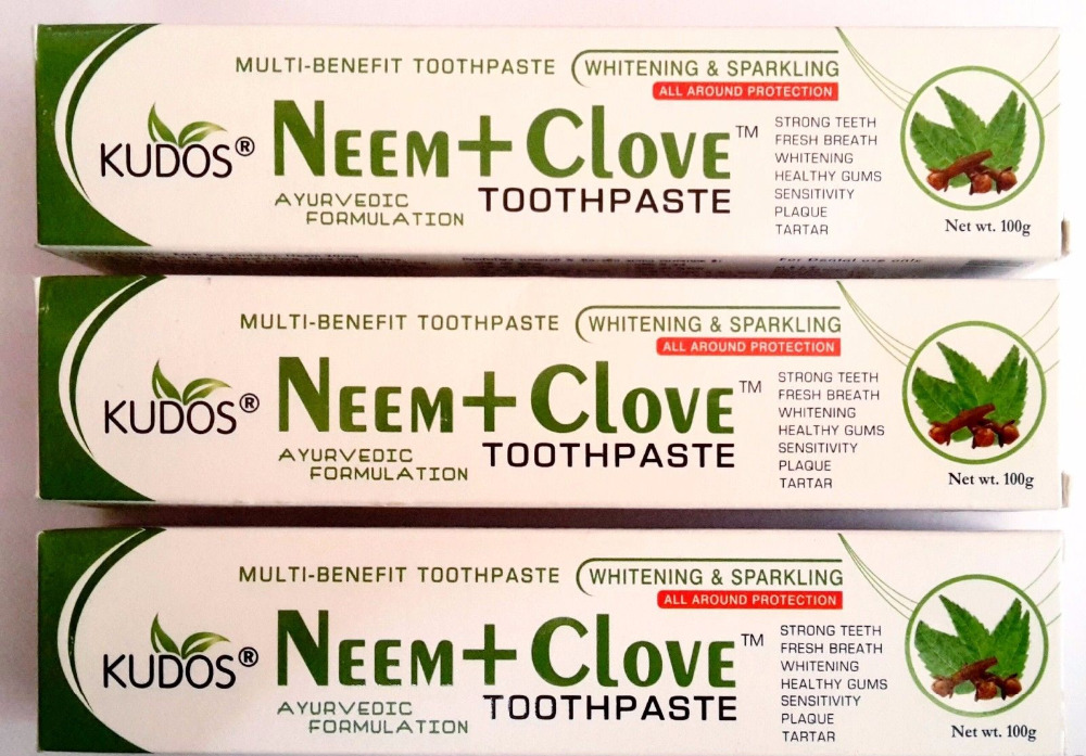 Kudos Neem and Clove Toothpaste