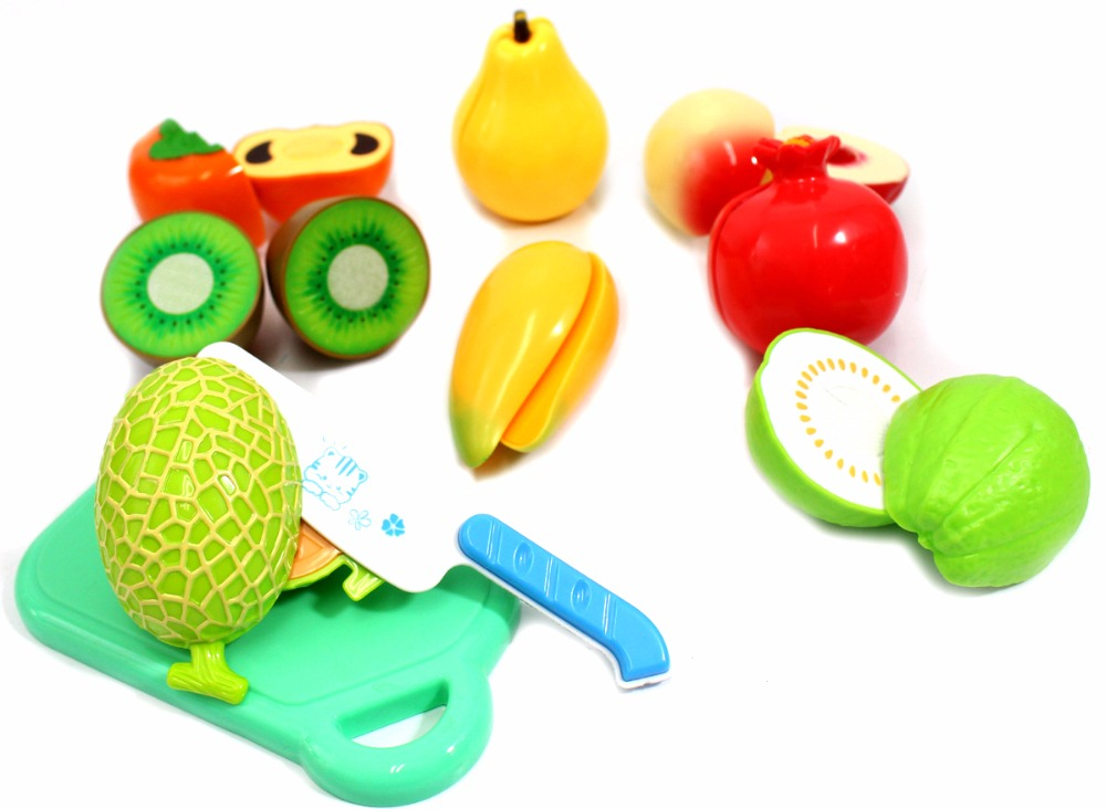 Kitchen Fun Cutting Vegetables Super Food Playset