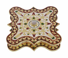 Rangoli shaped decorative handmade Meenakari Chocolate Box/ Dry Fruit Box