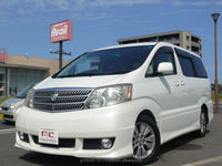 Good looking and japanese industry japan toyota alphard 2003 used car with Good Condition