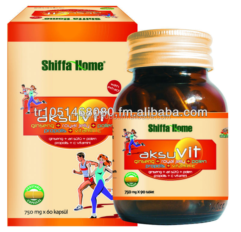 AksuVit Tablet Herbal Natural Vitamin Support for Health