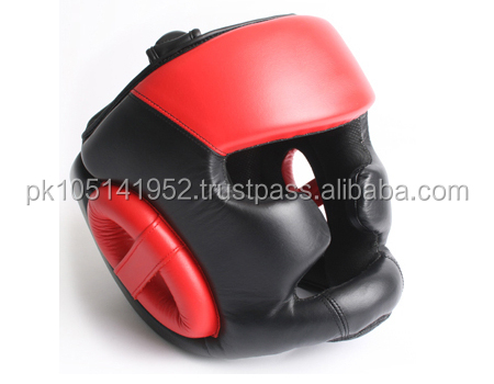PU Safety Boxing Taekwondo Head Guard OEM Customize Manufacturer/Cowhide Leather Head Guard