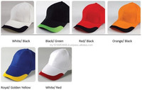 HEA1406 6- panel Brushed Cotton Cap