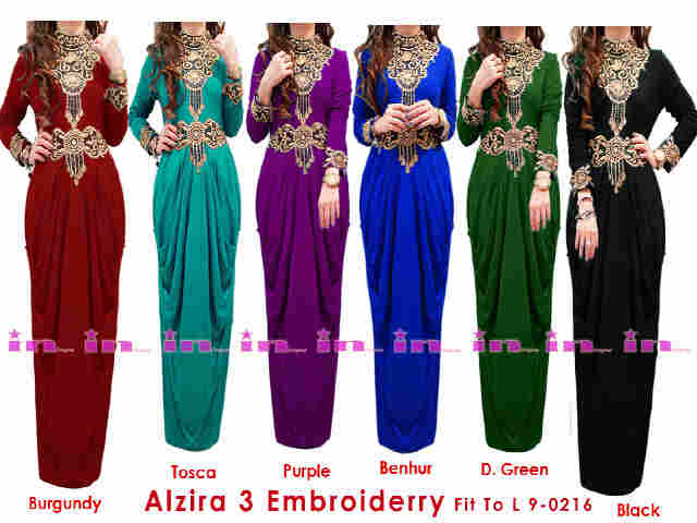 Kaftan maxi dress alzira