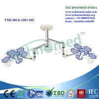 TMI-HEX-105+105 Technomed india Brand LED Cold Light Operating Lamp