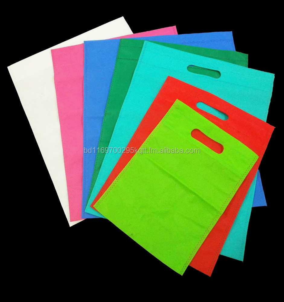 Non-woven Fabrics Eco Shopping Bag (Die Cut)