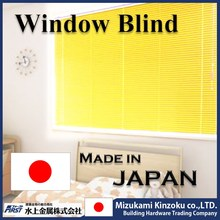 hot selling and reliable venetian blind slats made of aluminum alloy made in Japan