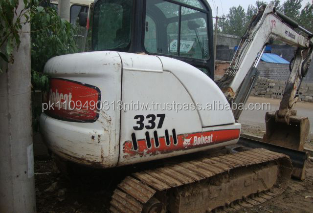 Used Bobcat machines, Used Bobcat 337 Excavator Price