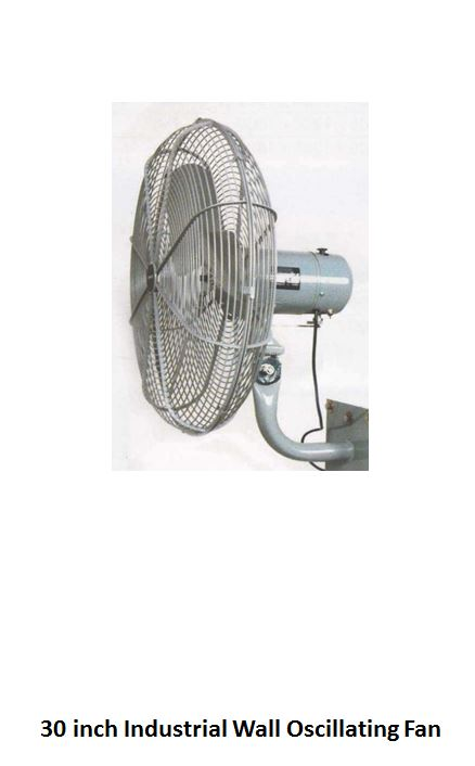 30 inch Industrial Wall Oscillating Fan